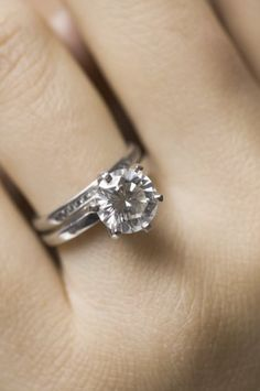 images of engagement rings on a finger | ... engagement ring on your left ring finger is bad luck for single