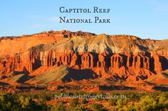 Pebbles and Piggytails: Finding Peace in the Great Outdoors--Capitol Reef National Park