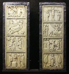 Byzantine Ivory Diptych