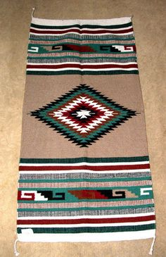 """Deck out your doorway with this high quality woven wool rug! 32x64"""" with tassled corners. Heavyweight & durable. $79.95 #rug #homedecor #throwrug #southwestern"""