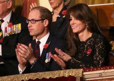 Prince William and Kate Middleton on Remembrance Day 2015   POPSUGAR Celebrity