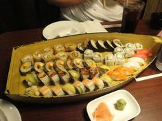 A Boat Load of Sushi from Sushi Gen