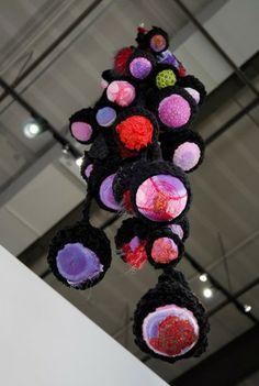 Leisa Rich fiber sculpture