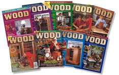 1994 Downloadable Back Issue Collection Woodworking In An Apartment, Woodworking Projects, Mobile Workbench, Classic Cabinets, Aspen Leaf, Wooden Wagon, Wood Magazine, Star Cookies, Wood Tools