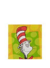 Dr. Seuss Beverage Napkins 16ct