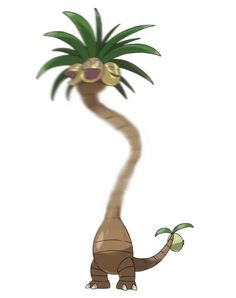 exeggutor looks so stupid now #pokemon