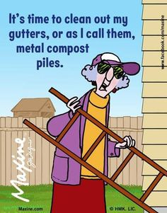 Have you cleaned your metal compost piles lately? Gutter cleaning is essential in avoiding costly repairs, Contact us to schedule a gutter cleaning service!