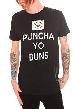 Adventure Time Puncha Yo Buns T-Shirt