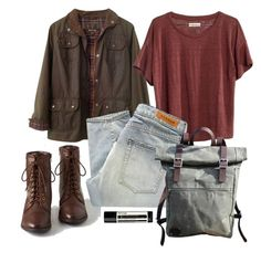 Scott Mccall Inspired School Outfit by lili-c on Polyvore featuring Madewell, Barbour, Denham and Aesop