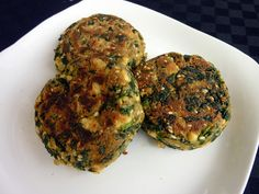 Alkaline Diet Recipe #122: Gluten-Free Spinach Garlic Tofu Burgers - Who said you can't be healthy eating burgers? With this Gluten-Free Spinach Garlic Tofu Burgers can give you all the taste that you crave and the nutrients that you need. Serves 2-4