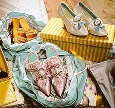 Marie Antoinette inspired shoes
