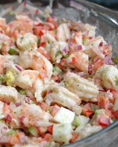 Recipe for Shrimp Salad . top 20 Recipe for Shrimp Salad . Shrimp Salad with Cilantro Mayonnaise – Laylita's Recipes Shrimp Salad Recipes, Seafood Salad, Shrimp Dishes, Avocado Recipes, Fish Recipes, Seafood Recipes, Cooking Recipes, Healthy Recipes, Shrimp Salads