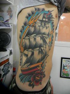 Caravela PMA Tattoo
