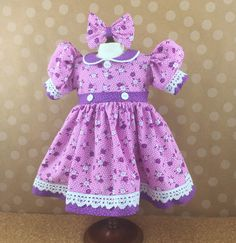 Fits American Girl Doll Other 18 Inch Dolls by dressurdolly2
