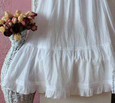 Купить Юбка бохо нижняя Снежность. - белый, юбка, бохо юбка, юбка бохо