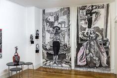 Heute Vernissage! Opening tonight! Gabi Streile | Eva Schaeuble | Galerie Tammen + Partner | 23.10.-05.12.2015 by Galerie Tammen & Partner freut sich, ab dem 23. Oktober bis zum 5. Dezember 2015 dieAusstellung mit den Künstlerinnen Gabi Streile (Malerei) und Eva Schaeuble (Malerei und Keramik) zu präsentieren. Die KünstlerinGabi Streileist im Programm regelmäßig wiederkehrender Gast in der Berliner Gal ARTatBerlin http://artatberlin.com/gabi-streile-eva-schaeu