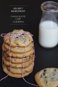 Savor Home: SECRET INGREDIENT CHOCOLATE CHIP COOKIES