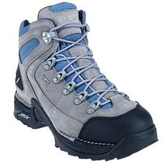 Danner 45390 Women's Rugged Gore-Tex Waterproof Hiking Boot   They're hard to find but are wonderful. Completely waterproof with full breatheable gor tex lining,  They're keeping my feet toasty warm and dry.  Search using the model number 43590 for women's.
