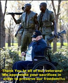 Much Gratitude to ALL of our Veterans!
