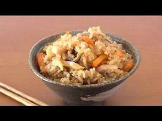 How to Make Tuna Gomoku Takikomi Gohan (Recipe) ツナ五目炊き込みご飯 (レシピ)
