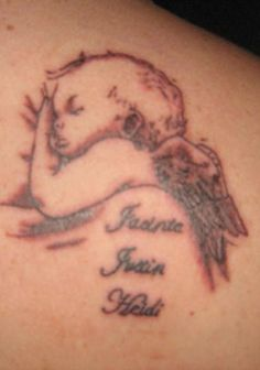 Baby Name Tattoos For Women | Tattoo Designs Zimbio - Free Download Tattoo #12370 Baby Angel Tattoos ...
