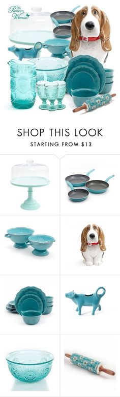 """""""The Pioneer Women Collection Kitchen Set"""" by deborah-calton ❤ liked on Polyvore featuring interior, interiors, interior design, home, home decor, interior decorating and kitchen"""