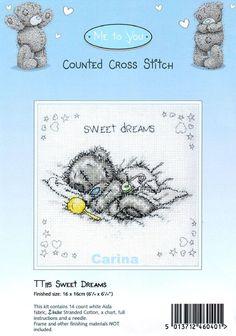 Schematic cross stitch Sweet Dreams 1