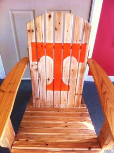 Tennessee Vols Adirondack Chair for dad in my case would have to b Miami!!!