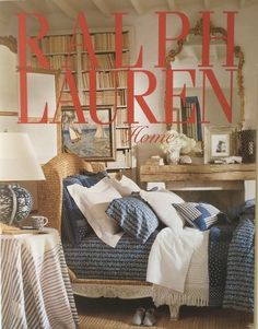 Ralph Lauren Home Archives, Unknown collection, Bedroom, Unknown Year