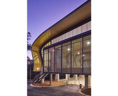 sports hall plywood eave lining Supawood acoustic panels