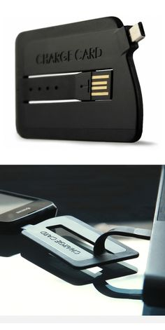 USB Charger for Androids - fits in your wallet. Would it not make more sense to just improve battery performance than to make other devices to improve it? Just a thought.