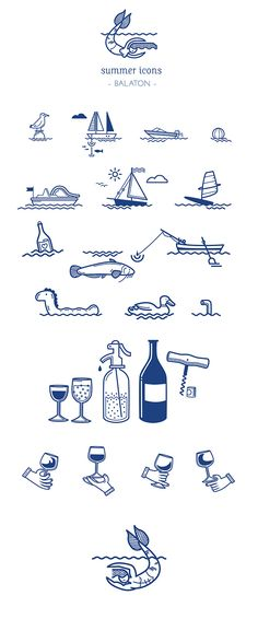 BALATON by Kata Kerekes, via Behance