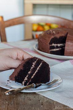 Chocolate Mud Cake. Perché certe volte ci vuole una buona torta al cioccolato!