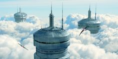 Top of the clouds by Jean-François Liesenborghs   Sci-Fi   3D   CGSociety