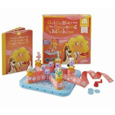 Goldie Blox and The Spinning Machine - engineering toys for girls. Bust through that tired gender paradigm! Just learned about this in school, going to buy a set for my class and see how the children respond. this is an awesome idea. Engineering Toys For Girls, Holiday Gift Guide, Holiday Gifts, Baby Toys, Kids Toys, Children's Toys, Top Toys, Stem Learning, Christmas Gifts For Kids