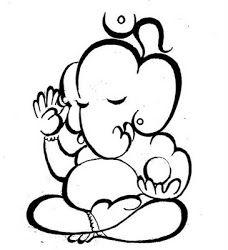 Om and ganesh Ganesha Sketch, Ganesha Drawing, Ganesha Painting, Ganesha Art, Mandala Drawing, Lord Ganesha, Shiva Art, Hindu Art, Outline Drawings