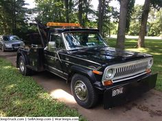 Used Jeeps and Jeep Parts For Sale - 1978 Jeep Wrecker Jeep Truck, Truck Camper, Trucks For Sale, Pickup Trucks, Jeep Parts For Sale, Used Jeep, American Motors, Garage House, Rear Window