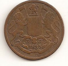 coins and more: 1) EAST INDIA COMPANY QUARTER ANNA COPPER COIN WHI...