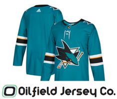 separation shoes 731ba 46677 Officially Licensed - Shop for San Jose Sharks Adidas Jersey at the Oilfield  jersey Company Online Store.