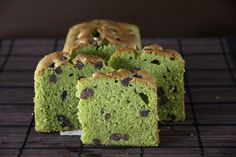 Matcha (Green Tea) Pound Cake