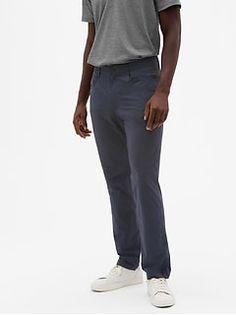 Gap Men's Hybrid Khakis In Slim Fit With Gapflex True Indigo Mark Price, Mens Activewear, Toddler Boys, Perfect Fit, Gap, Active Wear, Maternity, Sweatpants, Slim