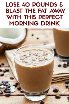 How to lose 40 pounds and blast the fat away with this perfect morning drink
