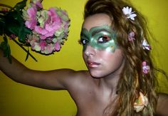 The flower's Princess - Carnevale 2015 #carnevale #makeup #carnevalemakeup #princessmakeup #flower