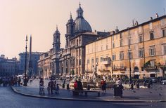 Piazza Navona, Rome, Italy   I want to go back!
