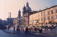 Piazza Navona, Rome, Italy   I want to go back!