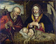 Follower of Jacopo Tintoretto - The Nativity [c.1590]