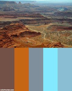 Dead Horse Point State Park,utah Color Scheme