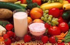 File:Fruits vegetables milk and yogurt.jpg