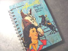 ANNETTE was SOOOO Cool!  Vintage Walt Disney's ANNETTE Altered Book by theChineseLaundry, $12.00