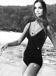 pinterest // prickly pear vintage // 1970s vintage swimsuit